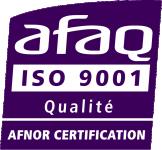 Certifié ISO 9001 depuis 20 ans